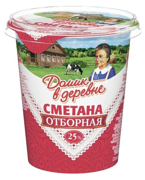Домик в деревне Сметана отборная 25%