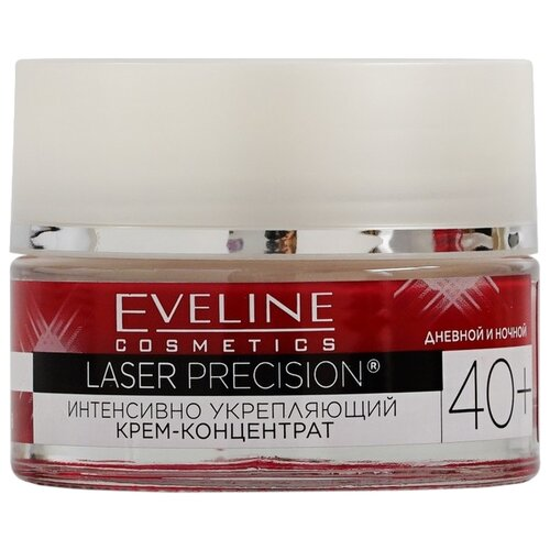 Крем-концентрат Eveline Cosmetics Laser Precision интенсивно укрепляющий 40+, 50 мл