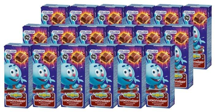 Молочный коктейль Danone Смешарики Шоколадный 2.5%, 210 г, 18 шт.