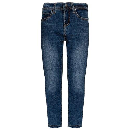 Джинсы Gulliver размер 98, синий джинсы gulliver размер 134 синий