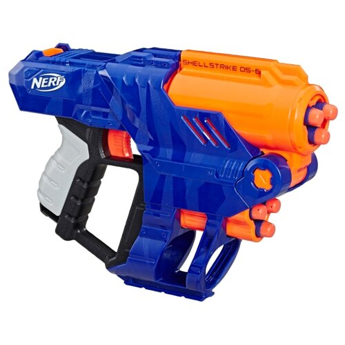 Купить Бластер Nerf N-Strike Элит Шеллстрайк (E6170), Игрушечное оружие и бластеры