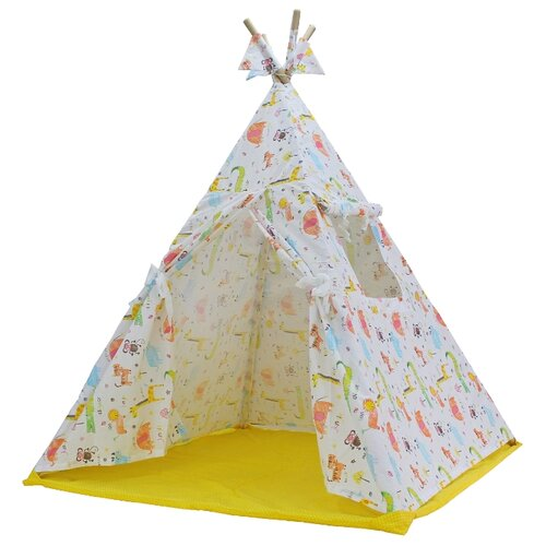 Палатка ДоММой Стандартный с ковриком рисункиИгровые домики и палатки<br>
