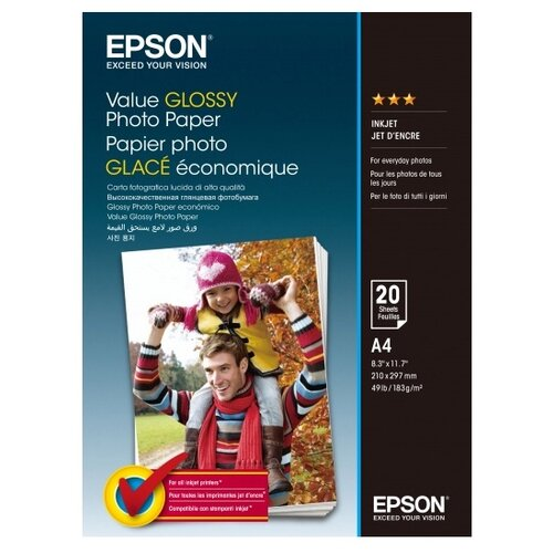 Фото - Бумага Epson A4 Value Glossy Photo Paper 183 г/м² 20 лист. pierre yves gomez the leap to globalization creating new value from business without borders