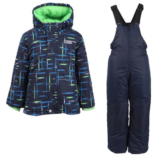 Купить Комплект с полукомбинезоном GUSTI Salve SWB 5859 размер 8/134, green flash, Комплекты верхней одежды