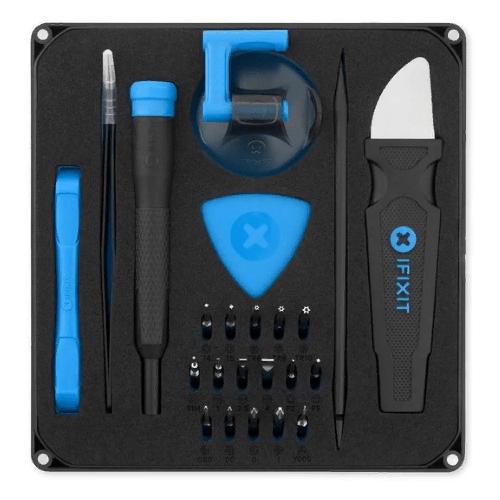 Набор инструментов для точных работ iFixit (28 предм.) Essential Electronics Toolkit черный/голубой набор инструментов для точных работ rexant 37 предм 12 4702 желтый красный