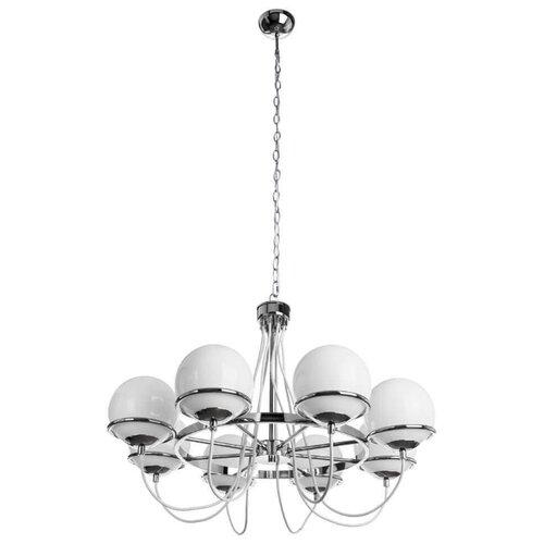 Люстра Arte Lamp Bergamo A2990LM-8CC, E14, 320 Вт люстра arte lamp a1222sp 8cc
