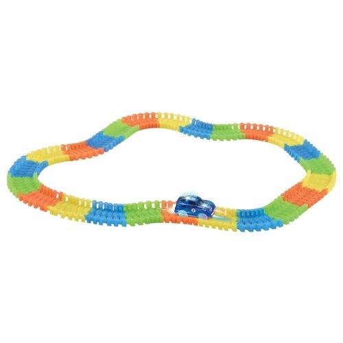 Купить Трек Junfa toys Golw Tracks (144 детали), Детские треки и авторалли