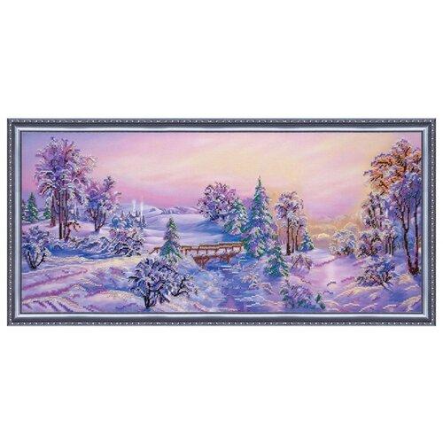 Купить ABRIS ART Набор для вышивания бисером Околдованный лес 66.5 х 30 см (AB-209), Наборы для вышивания