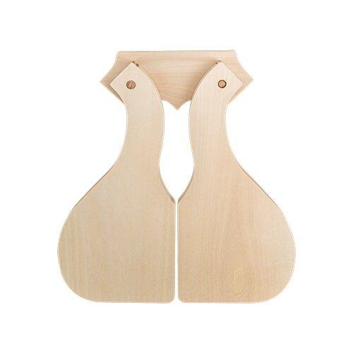 Купить Заготовки и основыMr. Carving ДОС-07 доски разделочные на подвесе липа 30 x 17 x 1.5 см 2 шт симметричные, Декоративные элементы и материалы