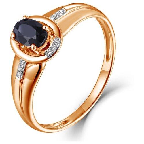 Бронницкий Ювелир Кольцо из красного золота R01-D-70654R001-R17, размер 17 бронницкий ювелир кольцо из красного золота r01 d 1983089ab r17 размер 17