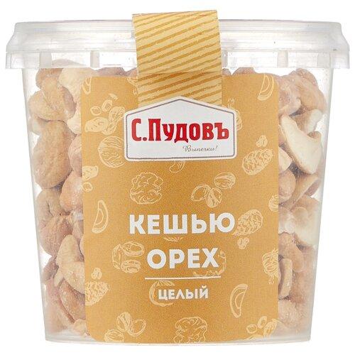 Фото - Кешью С.Пудовъ целый обжаренный, пластиковая банка 190 г кешью nuts for life обжаренный