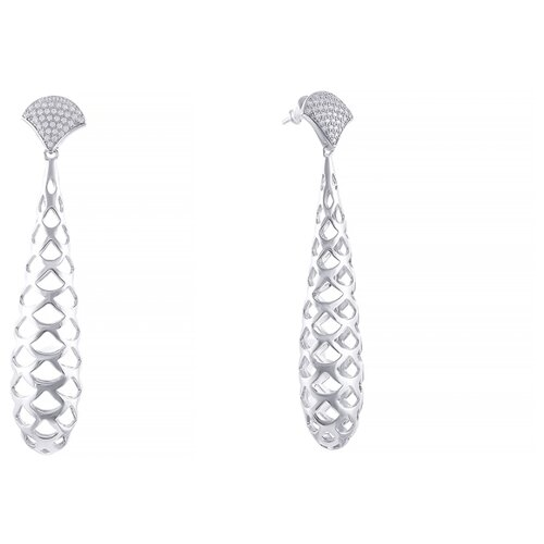 ELEMENT47 Серьги из серебра 925 пробы с фианитами E4970_SR_001_WG- преимущества, отзывы, как заказать товар за 5673 руб. Бренд ELEMENT47