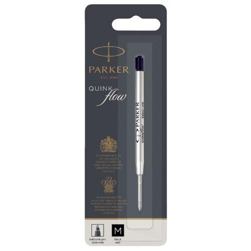 Купить Стержень для шариковой ручки PARKER QuinkFlow Z08 M 1мм (1 шт.) черный, Стержни, чернила для ручек