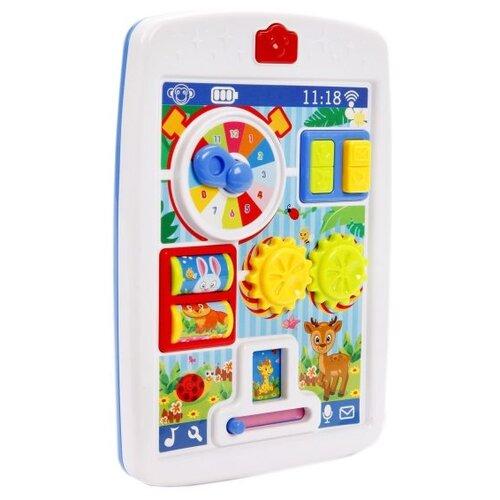 Развивающая игрушка Happy everyday Мой первый планшет (65080) белый/голубой планшет
