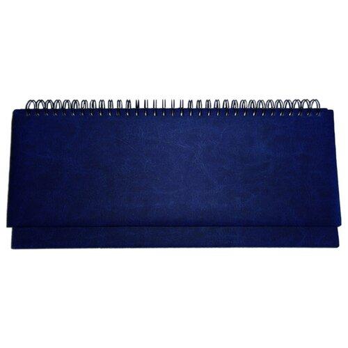 Планинг Prof-Press Виладж недатированный, искусственная кожа, 56 листов, синий