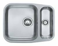Врезная кухонная мойка ALVEUS Duo 80 55.3х43.5см нержавеющая сталь