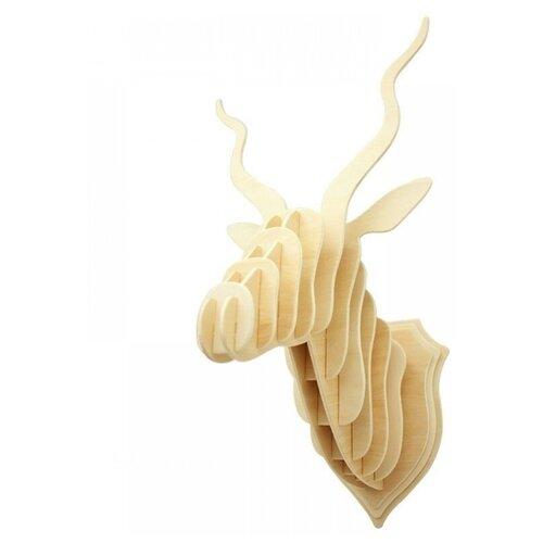 3D деревянный пазл Настенные украшения - Голова газели