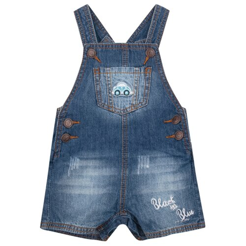 Купить Полукомбинезон Fun time SS20G20 размер 86, синий, Брюки и шорты