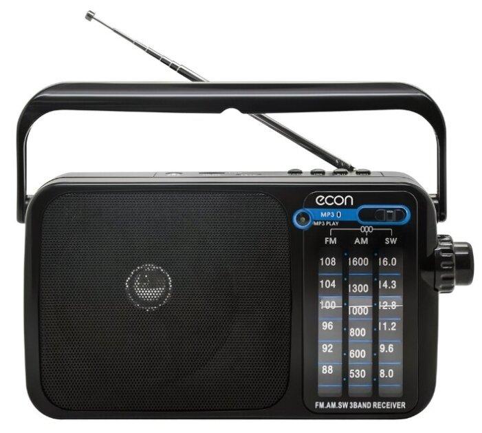Купить Радиоприемник ECON ERP-1100 AM/FM/SW, с телескопической антенной, работой от сети и батареек, USB, AUX, TF, воспроизведение MP3 по низкой цене с доставкой из Яндекс.Маркета