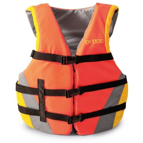 Спасательный жилет Intex с69681 оранжевый