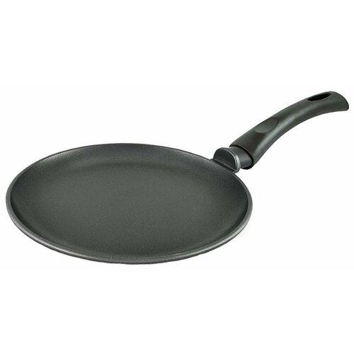 Фото - Сковорода блинная НЕВА МЕТАЛЛ ПОСУДА Литая 6222, 22 см сковорода блинная нева металл посуда байкал 256224 24 см