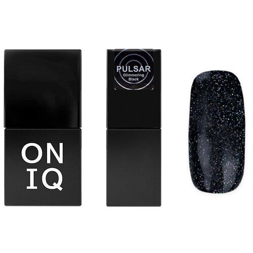 Купить Гель-лак для ногтей ONIQ Pulsar, 10 мл, 157 Glimmering Black