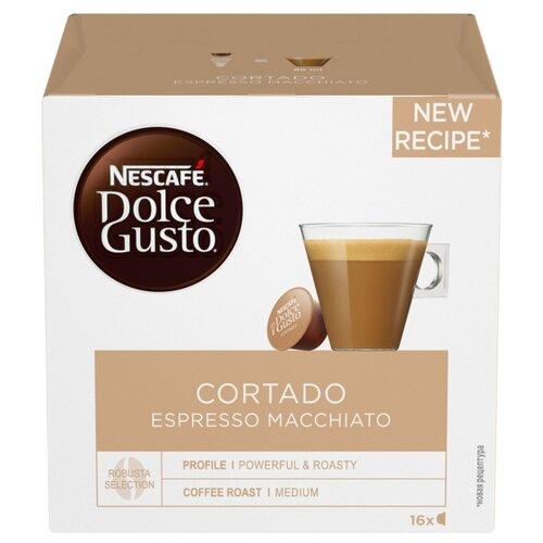 Кофе в капсулах Nescafe Dolce Gusto Cortado (16 капс.) фильтр для кофе brand new 2015 dolce gusto tea strainer