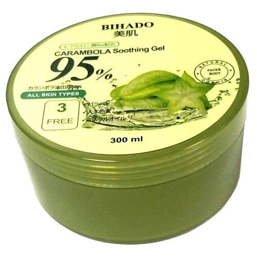 Гель для тела Bihado Увлажняющий с экстрактом карамболы Carambola soothing gel, банка, 300 мл