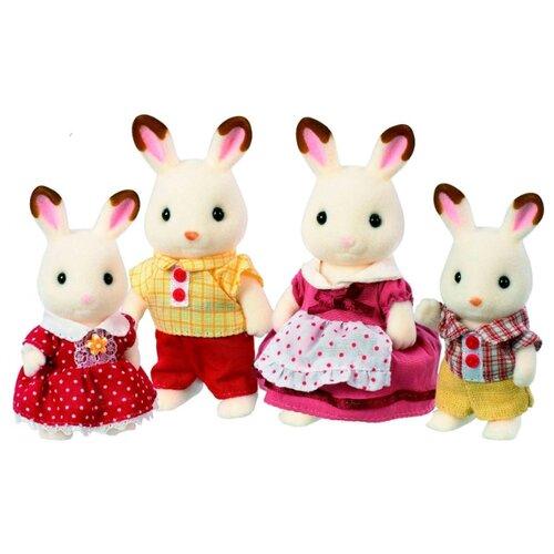 Фигурки Sylvanian Families Семья шоколадных кроликов 3125/4150 набор семья кроликов sylvanian families