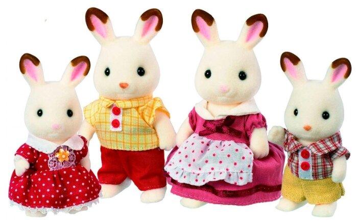 Игровой набор Sylvanian Families Семья шоколадных кроликов 3125/4150
