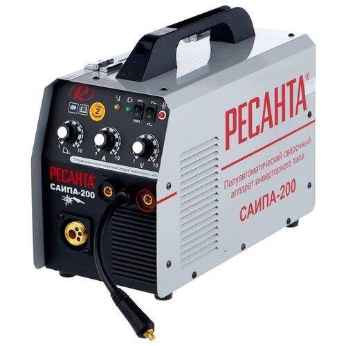 Сварочный аппарат РЕСАНТА САИПА-200 (MIG/MAG, MMA)