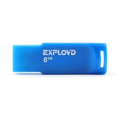 Фото - Флешка EXPLOYD 560 8GB blue usb flash drive 8gb exployd 560 red ex 8gb 560 red