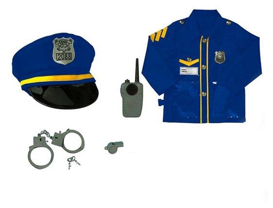 Игровой набор Город Игр Полицейский с аксессуарами FL0007-0952-3
