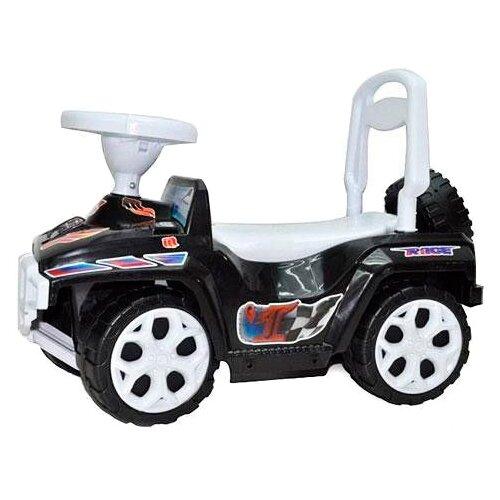 Купить Каталка-толокар Orion Toys Ориончик (419) со звуковыми эффектами черный, Каталки и качалки