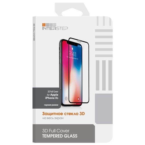 Купить Защитное стекло INTERSTEP 3D Full Cover для Apple iPhone XS черный