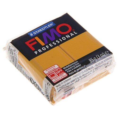 Купить Полимерная глина FIMO Professional запекаемая 85 г охра (8004-17), Глина