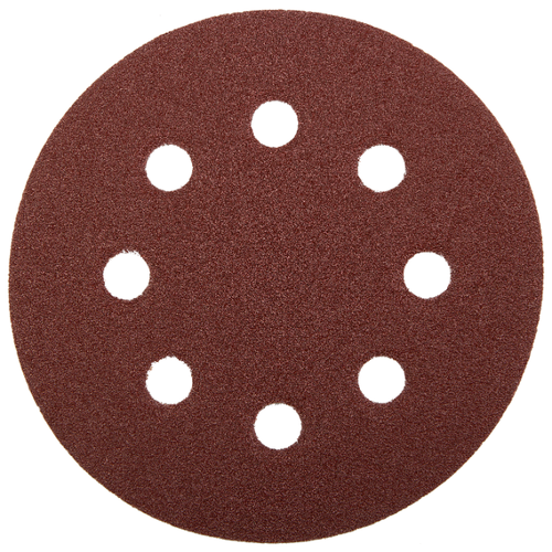 Шлифовальный круг на липучке ЗУБР 35562-125-060 125 мм 5 шт круг шлифовальный elitech 1820 038400 5 шт p120 125 мм