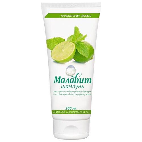 Малавит шампунь для всех типов волос Ароматерапия - Мохито 200 мл шампунь малавит