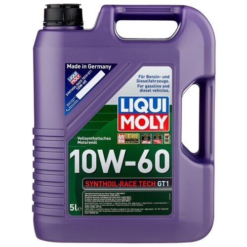 Моторное масло LIQUI MOLY Synthoil Race Tech GT1 10W-60 5 л