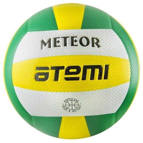 Волейбольный мяч ATEMI Meteor зеленый/желтый/белый