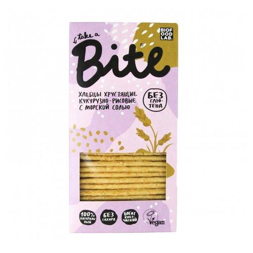 Хлебцы кукурузно-рисовые Bite с морской солью 150 гХлебцы, сухарики<br>