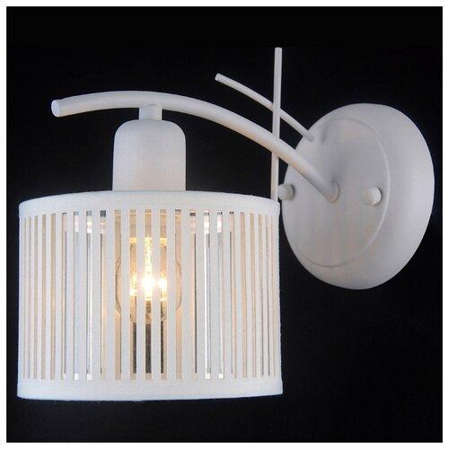 Настенный светильник Natali Kovaltseva Amsterdam 81053-1W Satin White, 40 Вт бра natali kovaltseva passion 11360 1w white gold