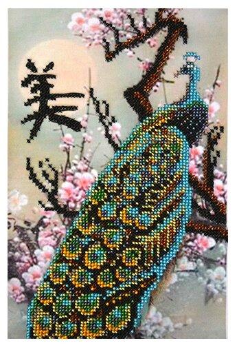 Созвездие Набор для вышивания бисером Карьерный рост. Почитание 15,5 х 22,5 см (Ф-107)