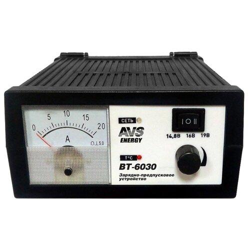 Зарядное устройство AVS Energy BT-6030 черный