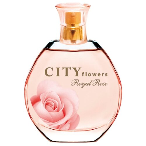 Туалетная вода CITY Parfum City Flowers Royal Rose, 50 мл conquered city