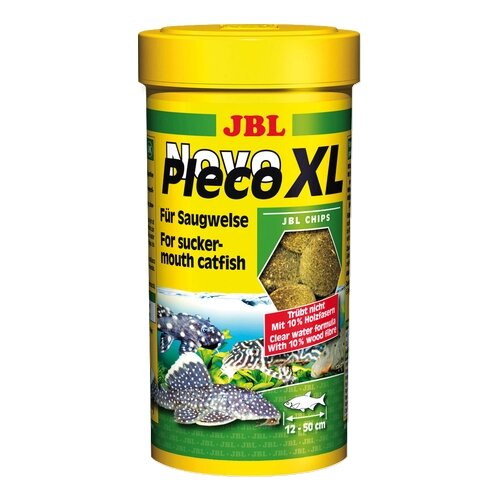 Сухой корм для рыб JBL NovoPleco XL 1000 мл 500 г