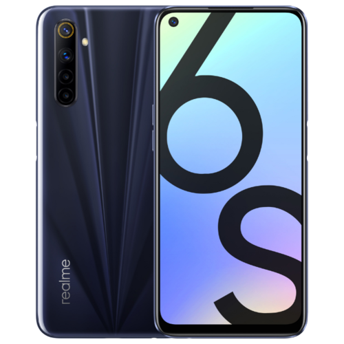 Смартфон realme 6S 6/128GB Eclipse Black