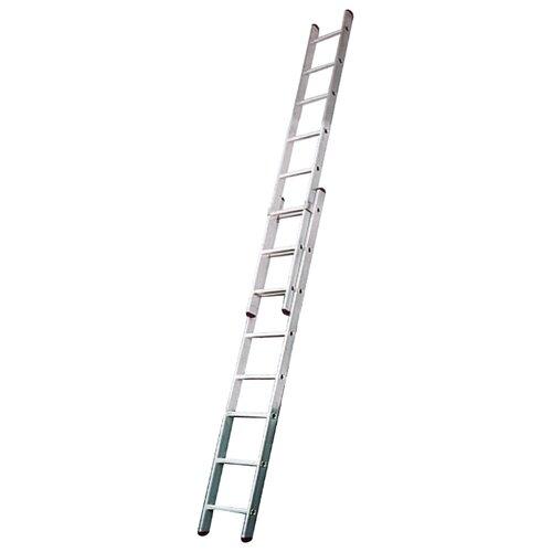 Лестница телескопическая 2-секционная KRAUSE 12081 лестница телескопическая biber 98208