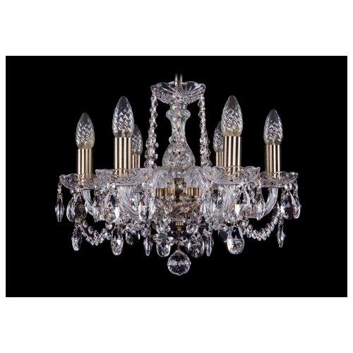 Люстра Bohemia Ivele Crystal 1402/6/141 Pa, E14, 240 Вт люстра bohemia ivele crystal 1402 1402 3 141 pa