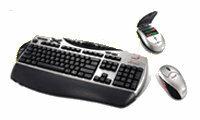 Клавиатура и мышь Genius Wireless TwinTouch Office Grey USB